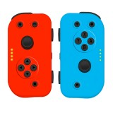 Nintendo Switch Left and Right Joy-Con Controllers Neon Red Neon Blue